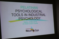 Psychological Tools In Industrial Psychology Training